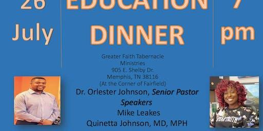 11TH Annual Pastor's Education Dinner