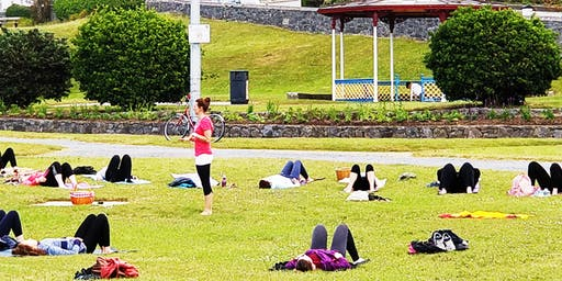 Outdoor YOGA | Saturdays | 9:30 am | Leisureland Outdoors | Salthill Park