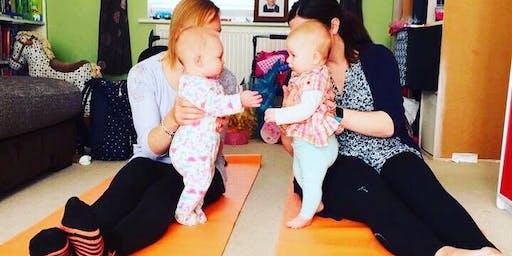 Free Mum & Baby Yoga @ Wroxham Hub