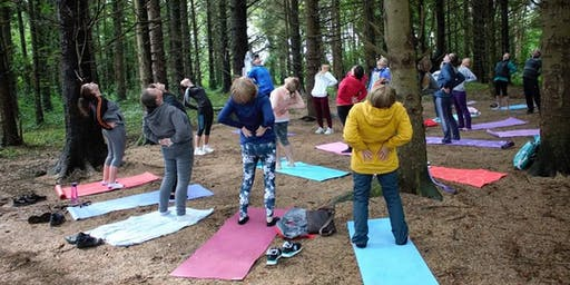Yoga in the WOODS | Sunday | 10:00am | Merlin Woods | Doughiska | Galway