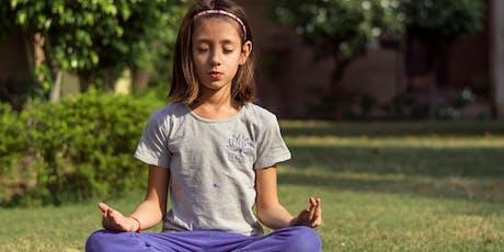 Palestra sobre Meditação nas Escolas. ingressos