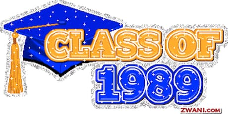 Class of 1989 - 30yr Reunion tickets