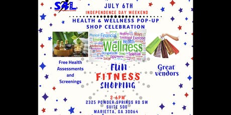 JULY 4th HEALTH & WELLNESS POP-UP SHOP tickets