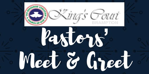 Meet and Greet with the Pastor