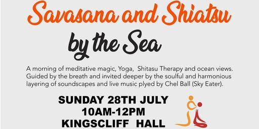 Savasana & Shiatsu by the Sea