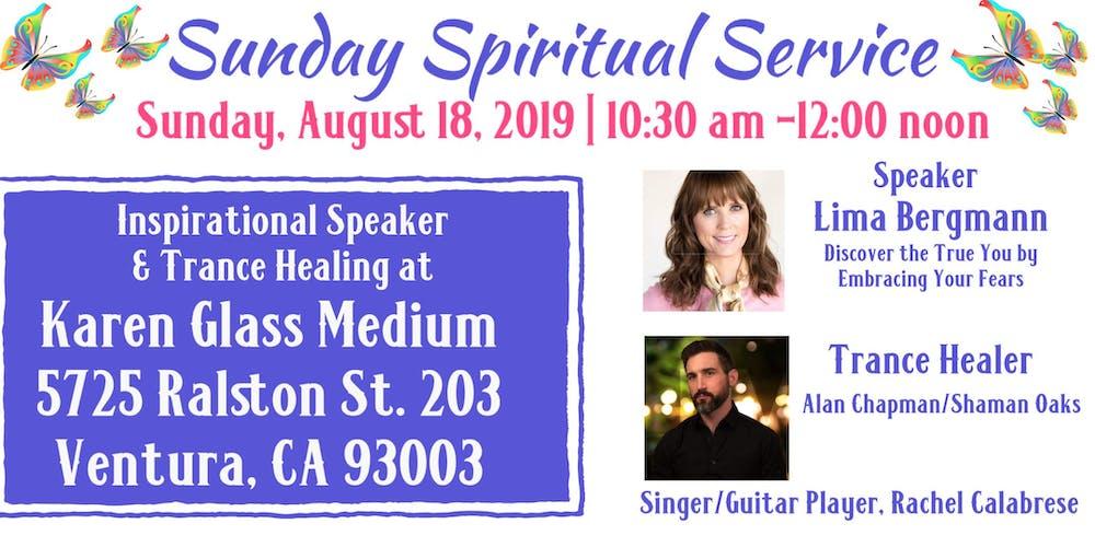 Sunday Spiritual Service Tickets, Sun, Aug 18, 2019 at 10:30 AM