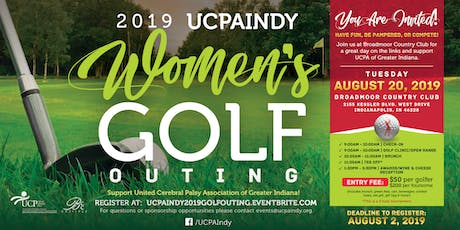 2019 United Cerebral Palsy Association of Greater Indiana Women's Golf Outing tickets