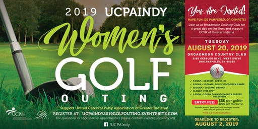 2019 United Cerebral Palsy Association of Greater Indiana Women's Golf Outing