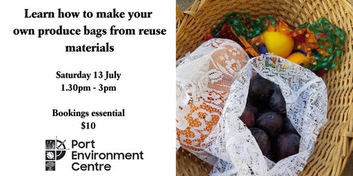 Learn how to make your own produce bags!