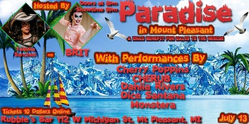 Paradise in Mount Pleasant: Benefit for Dalis to the Rescue!