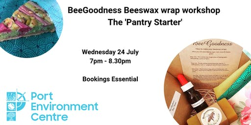 BeeGoodness Beeswax wrap workshop - the 'Pantry Starter'