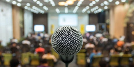 How to Improve Your Public-Speaking Self Confidence tickets