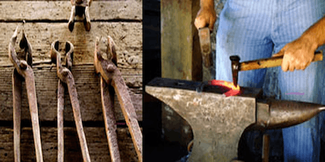 Tool Smithing - Tool Making Series - Tongs without Tongs tickets