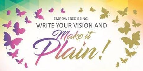 See it! Say it! Seize it! A Vision Board Experience!  tickets
