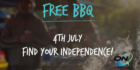 Free BBQ - Find Your Independence! tickets