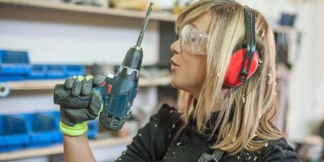 Power Tool Workshop; Gain confidence to DIY tickets