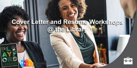 Cover Letter and Resume workshop @ the Library tickets