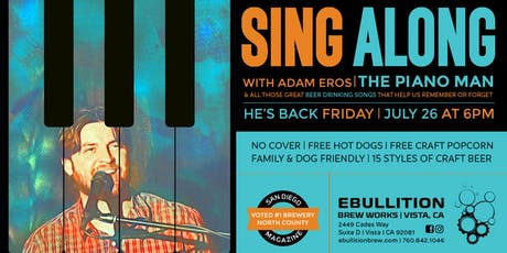 Sing Along With The Piano Man To All Your Favorite Beer Songs tickets
