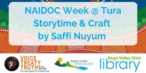 Naidoc week storytime and craft @ Tura Marrang