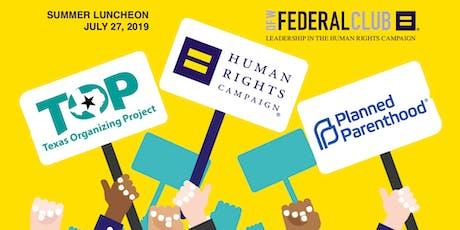 HRC DFW Federal Club Summer Luncheon tickets
