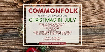 COMMONFOLK Christmas in July