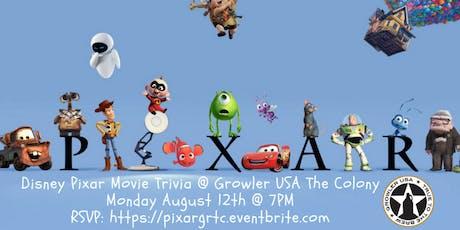 Disney Pixar Movie Trivia at Growler USA The Colony tickets