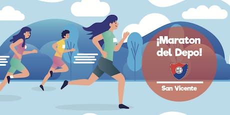 Maraton del Depo 2019 San Vicente 2019 entradas