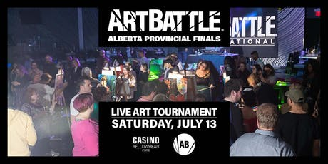 Art Battle Alberta Provincial Finals! - July 13, 2019 tickets
