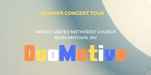 DuoMotive Summer Concert Tour: Stop #1
