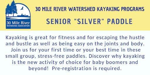 "Seniors ""Silver"" Paddle    LOVEJOY POND  WAYNE"