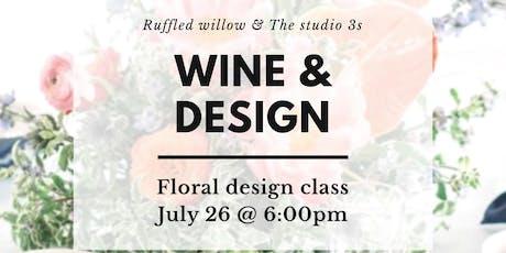 Wine & Design girls night tickets