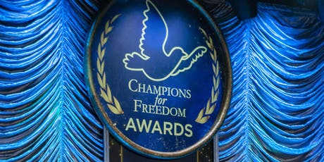 Champions for Freedom Awards Banquet 2020 tickets