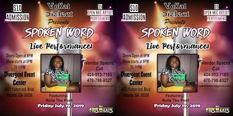 Vokal Dialect Spoken Word Open Mic  tickets