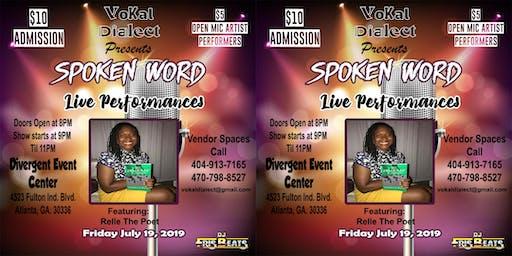 Vokal Dialect Spoken Word Open Mic