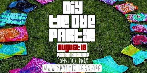 DIY Tie Dye Party - Comstock Park