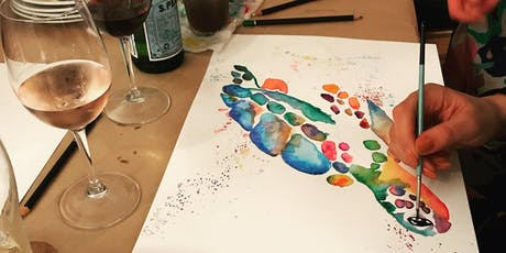 Watercolours and Wine - 17 August tickets