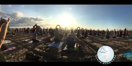 Summer Yoga on the Beach