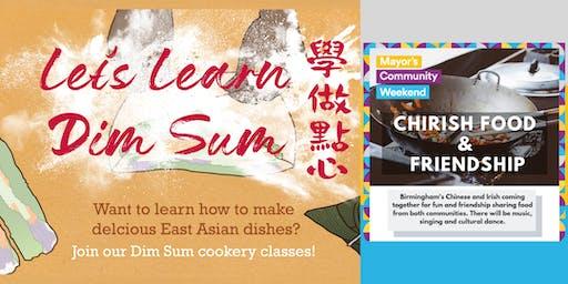 Let's Learn Dim Sum: Jiaozi Dumplings & Irish Food!