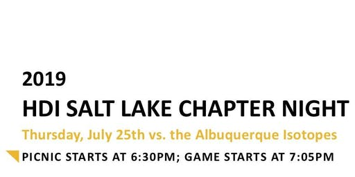 HDI Salt Lake Chapter Bee's Night