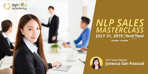 NLP SALES MASTER TRAINING