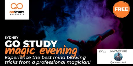 Go Study Magic Evening - Sydney tickets