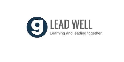 Lead Well Leadership Track (Fall 2019)