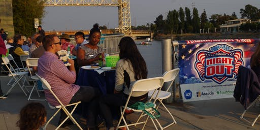 Jingletown Potluck Dinner for National Night Out 2019
