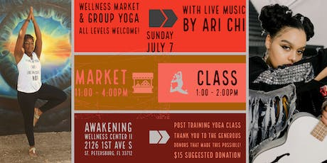 200 Hours Later Group Yoga with Live Music by Ari Chi tickets