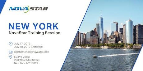NovaStar Training Session - New York tickets