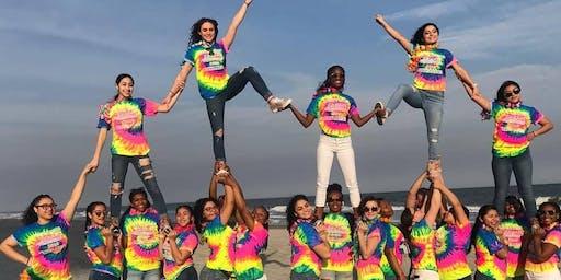Varsity Cheerleading skills clinic