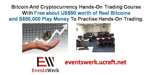 Get US$50 Worth Of Bitcoins. Bitcoin and Cryptocurrency Trading Course