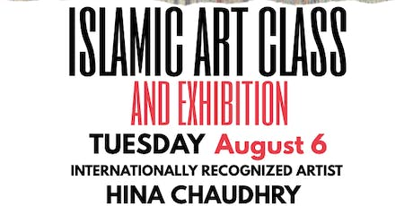 Islamic Art Class with Artist Hina Chaudhry, New York tickets