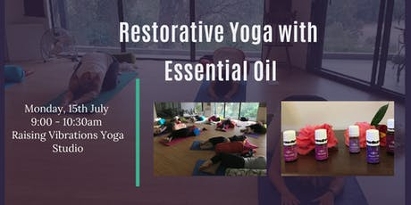 Restorative Yoga with Essential Oil tickets