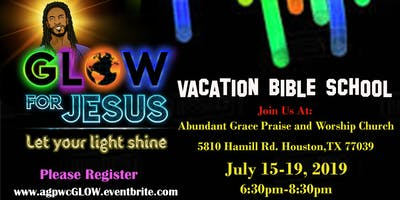 Vacation Bible School: Glow For Jesus!